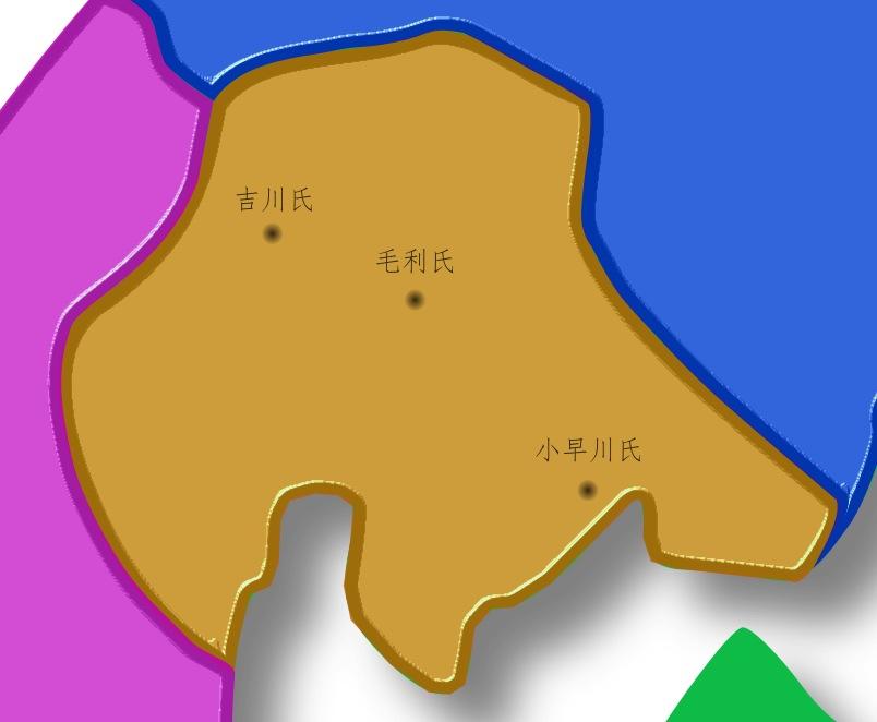 安芸国の国人勢力と毛利両川
